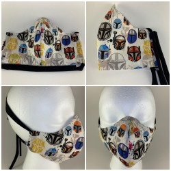 Mandalorian Helmets Tie...