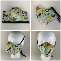 Farm Tie Face Mask with...