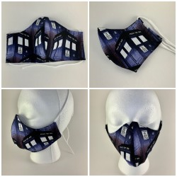 Doctor Who Tardis Tie Face...