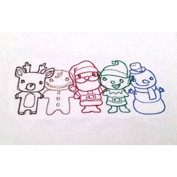 Cute Christmas Kitchen Towel