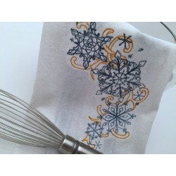 Embroidered Snowflake...